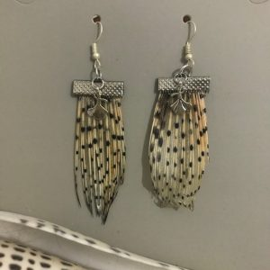 Lionfish earrings with mevlana